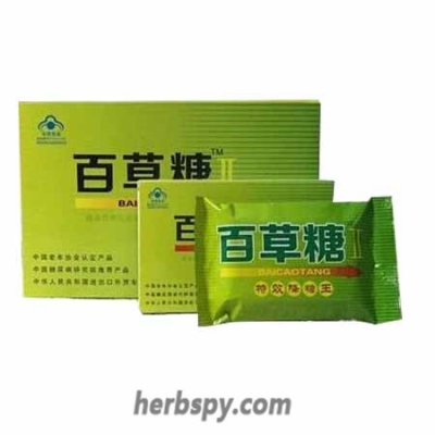Bai Cao Tang Ⅱ Capsules for Diabetes and diabeic complications