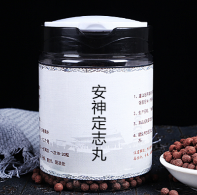 Anshen Dingzhi Wan for palpitation with fear or forgetfulness and insomnia