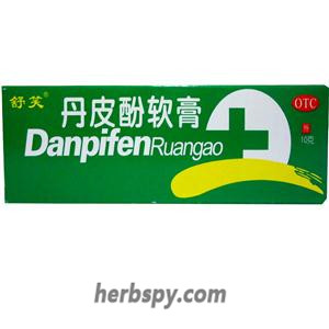 Paeonol Ointment for a variety of eczema dermatitis