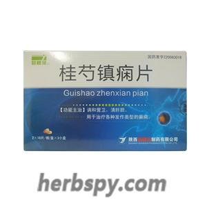 Gui Shao Zhen Xian Tablets for various types of epilepsy