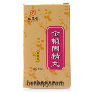 Jinsuo Gujing Wan for spermatorrhea and night emission