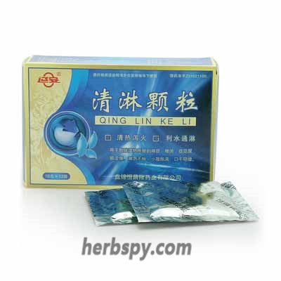 Qinglin Granules for stranguria and dripping urination