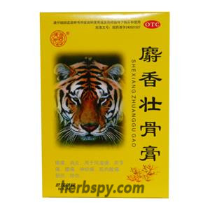 Shexiang Zhuanggu Tie for rheumatic pain neuralgia sprains