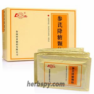 Shen Qi Jiang Tang Granule cure type 2 diabetes and diabetes syndrome