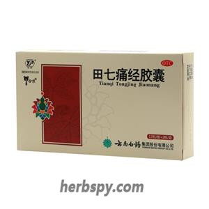 Tianqi Tongjing Capsule for menstrual disorders due to the cold