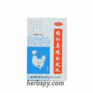 Wu Ji Bai Feng Wan for dysmenorrhea,irregular menstruation lower abdomen cold pain