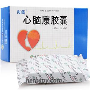 Xinnaokang Capsule for angina and cerebral arteriosclerosis
